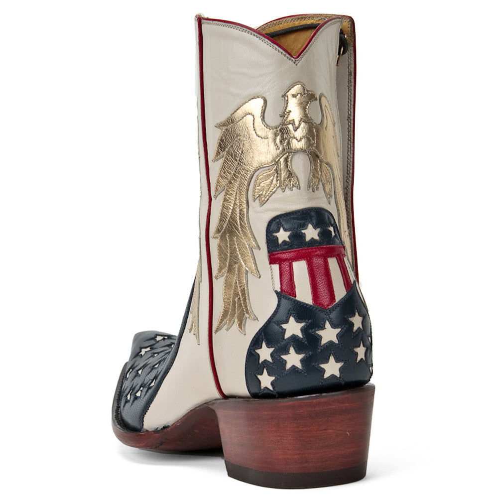 Stars and Stripes Ankle Zipper - Back at the Ranch