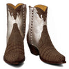 Annie Sueded Crocodile Zipper Boot