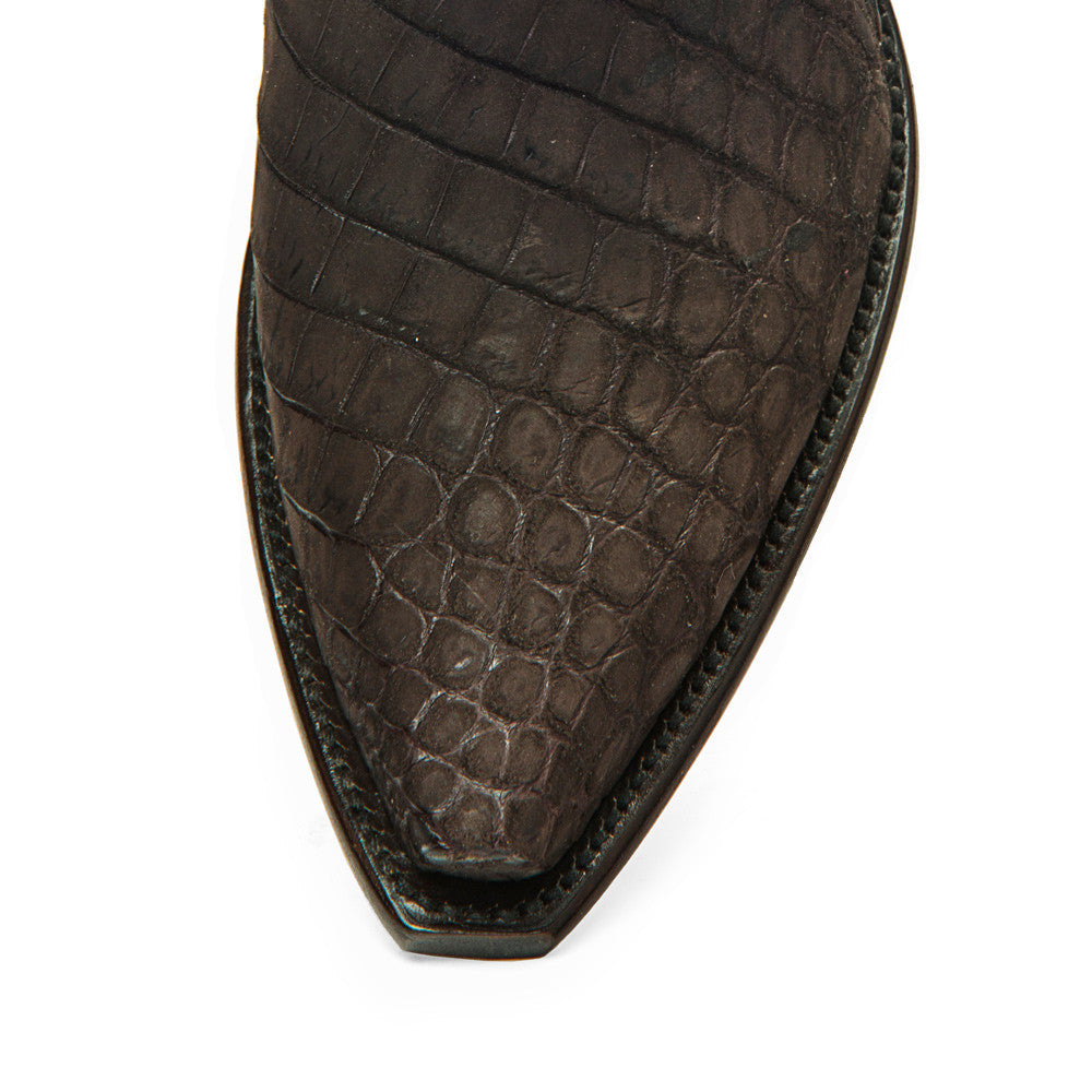Crocodile Sueded Ankle Zipper - Back at the Ranch