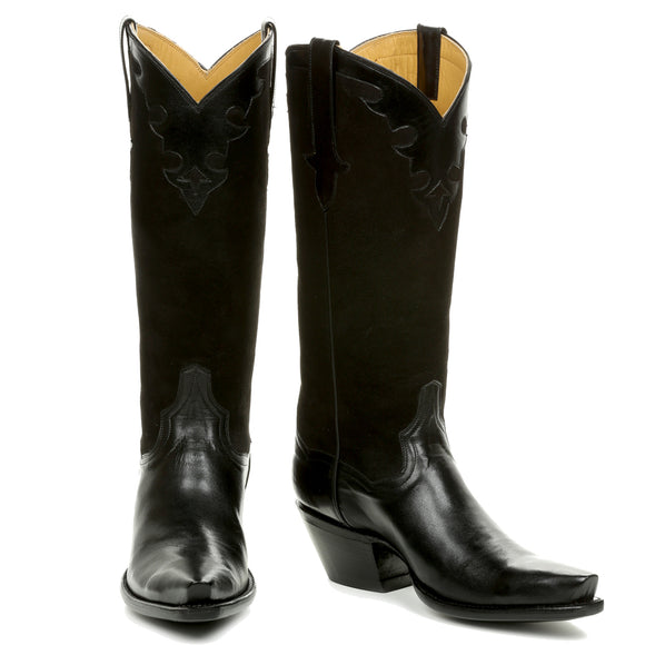 Little Black/Brown Boot 14