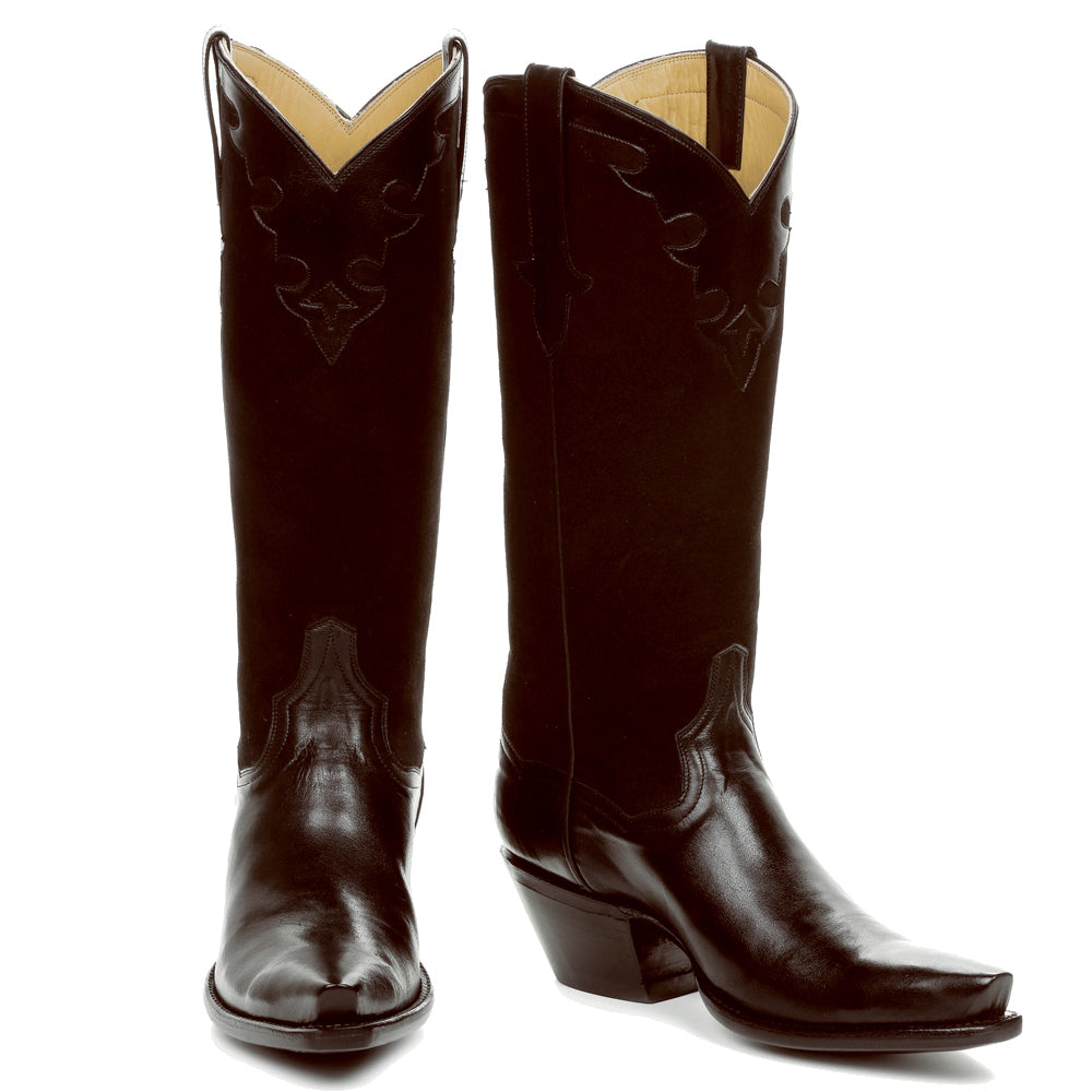 "Little Black or Brown Boot 14"" - with personalization - Back at the Ranch"