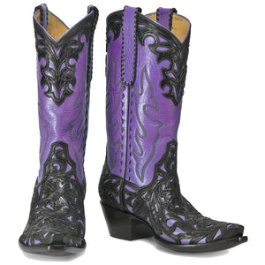 "Filigree 12"" - Purple Ruffles - Back at the Ranch"