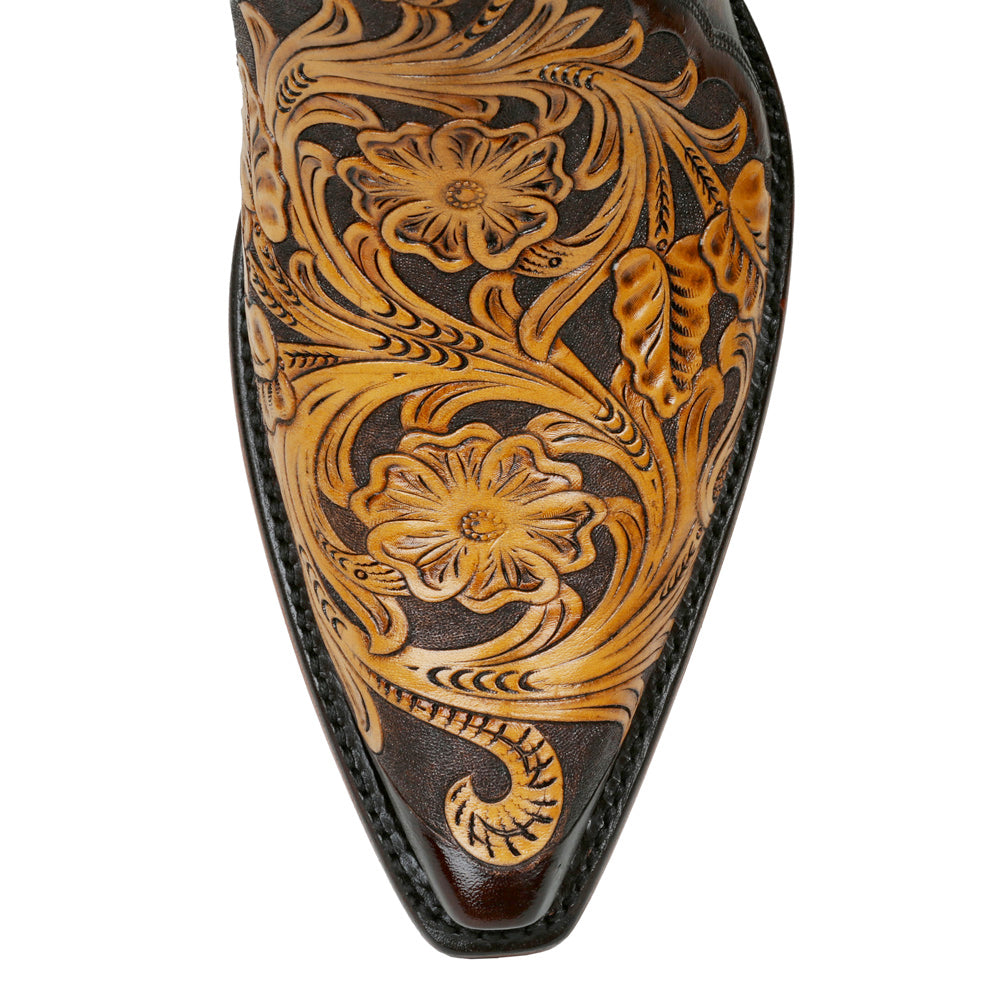"Sheridan Full Tooled 14"" - Back at the Ranch"