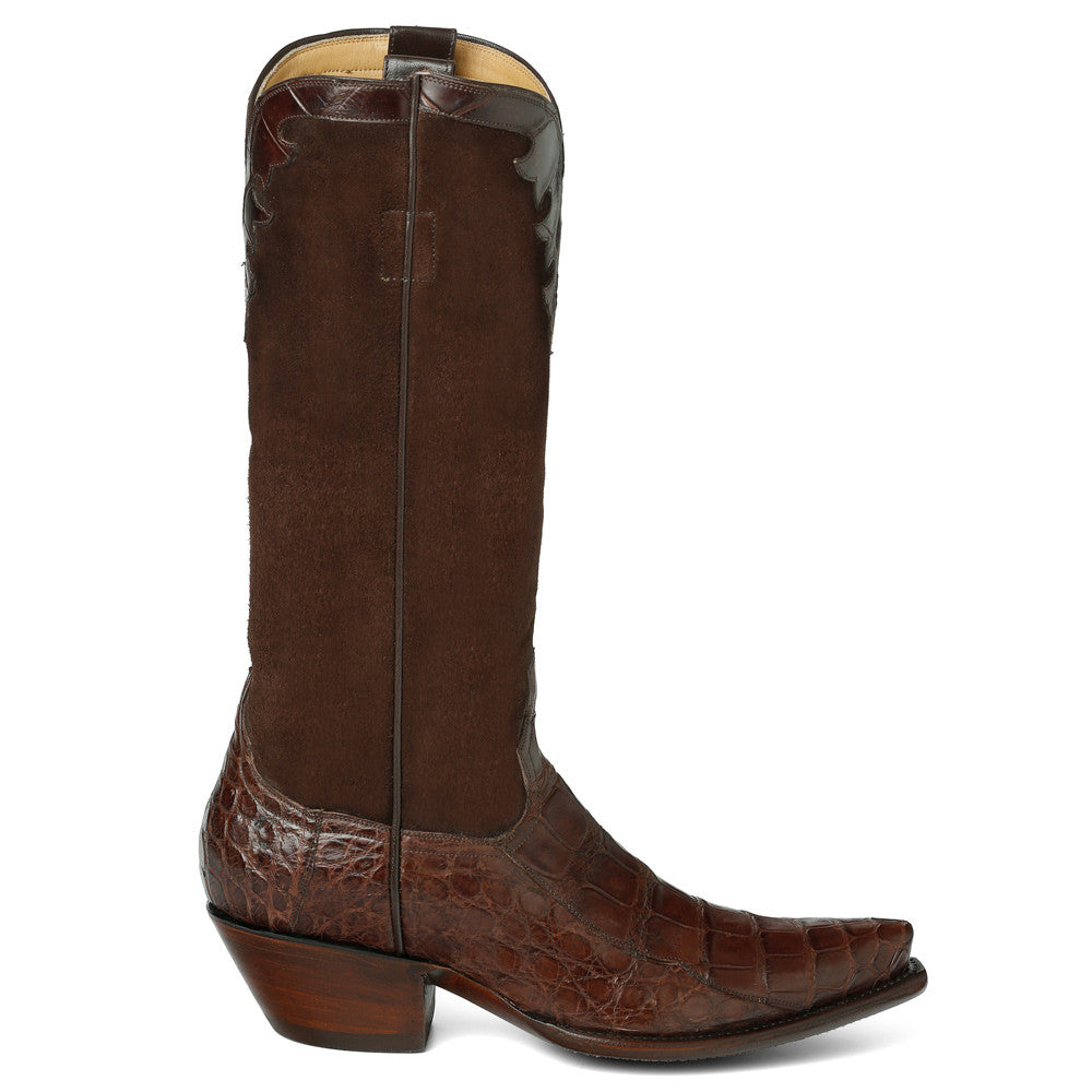 "Fancy Crocodile with Nubuck 14"" - Back at the Ranch"