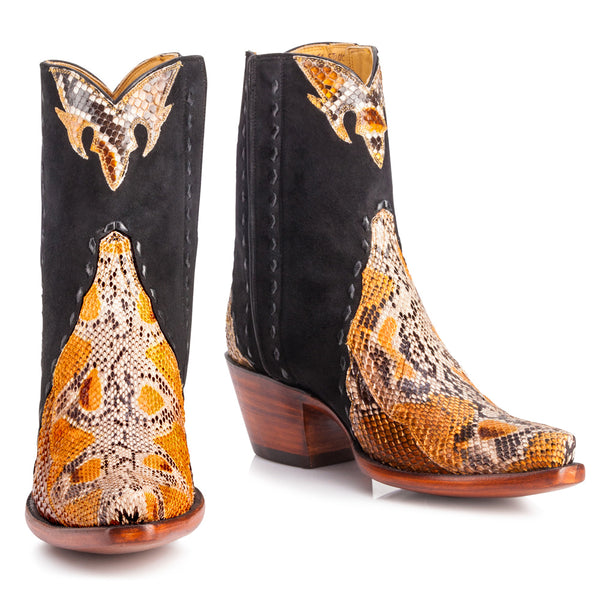 Fancy Python Zipper Boot