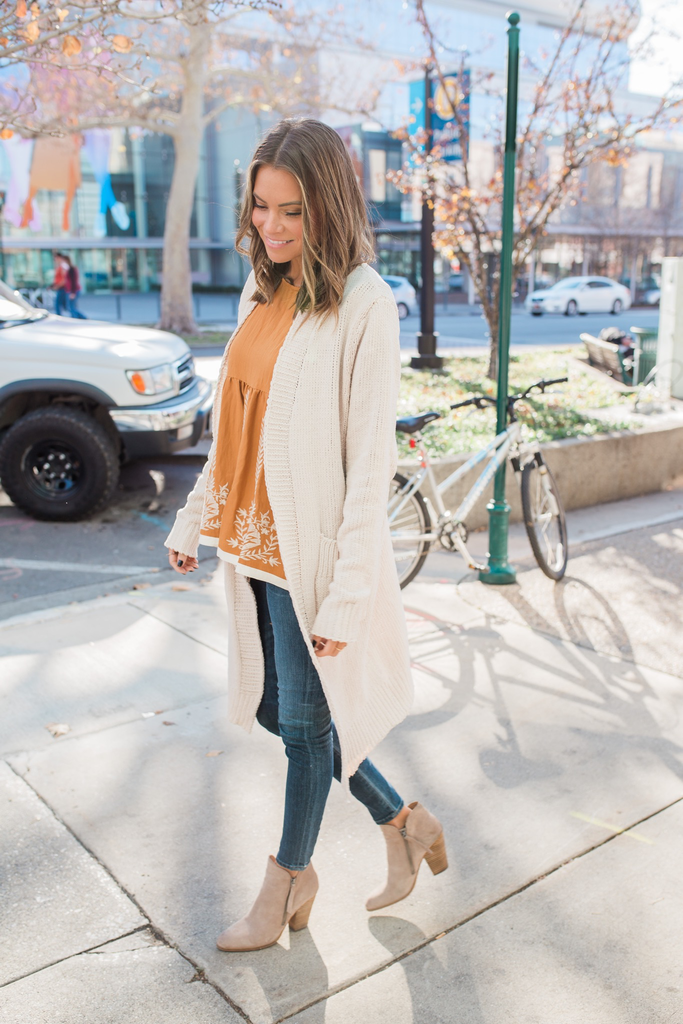 Cream Jubilee Cardigan