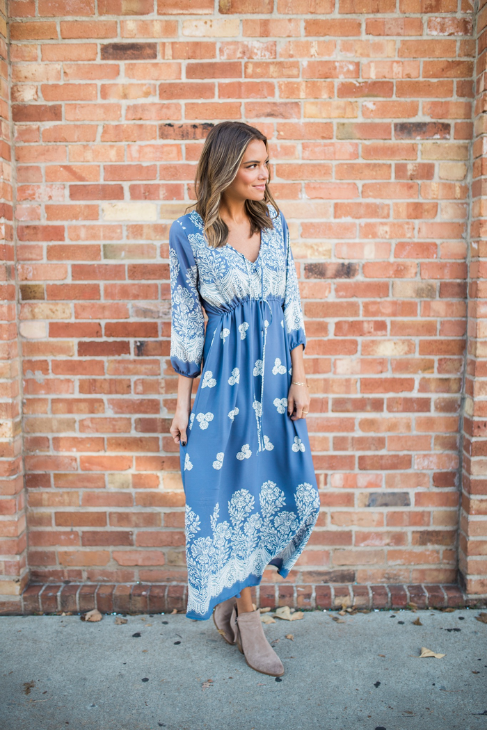Something Blue Maxi