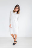 Niya Dress in White