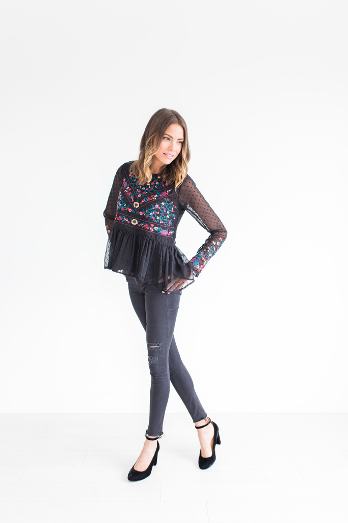 The Rosa Embroidered Top