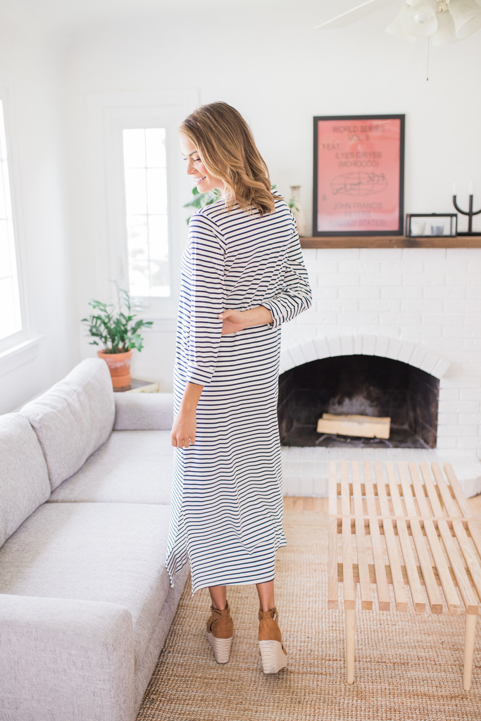 Nancy Drew Maxi Dress
