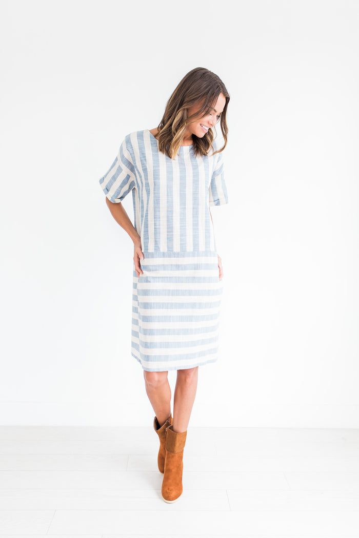 Mara Striped Dress