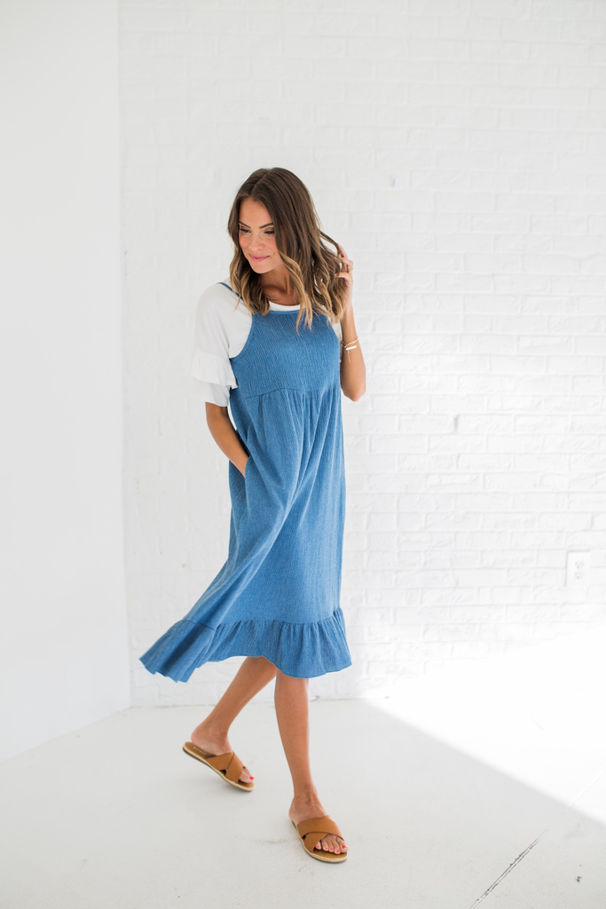 Denim Iceland Dress