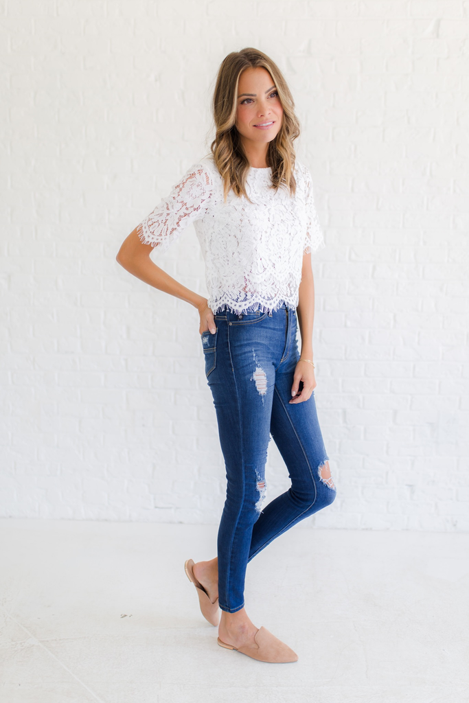 Marianne Lace Top
