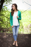 Snap Cardigan - 6 Colors - Framed in Jade
