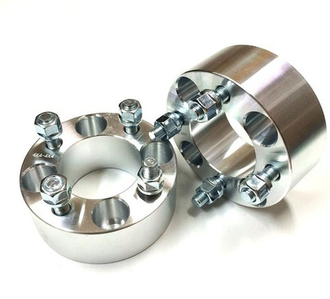 "2"" 4x4 to 4x4 Aluminum Golf Cart Wheel Spacers (Pair)"