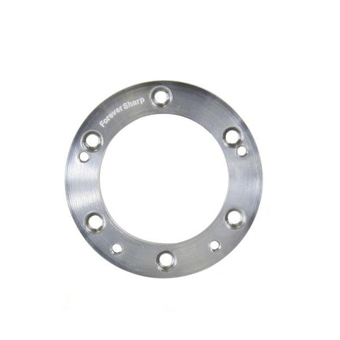 "1/2"" 6 Hole Wheel to 5 Hole Adapter Conversion Plate - Polished"