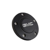 Black Billet GMC Modern Logo Horn Button - 5 Hole