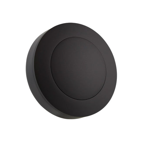Black Billet Horn Button - 9 Hole