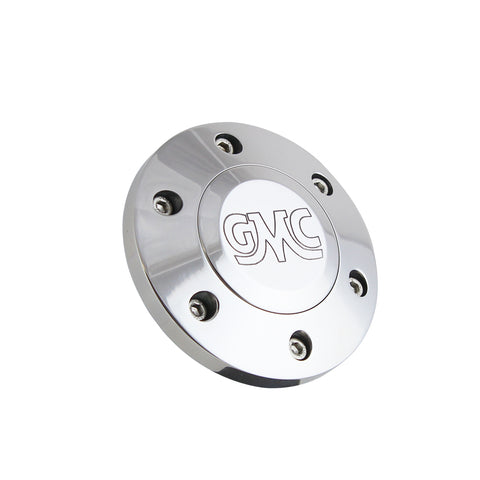 Polished Billet Retro GMC Horn Button - 6 Hole