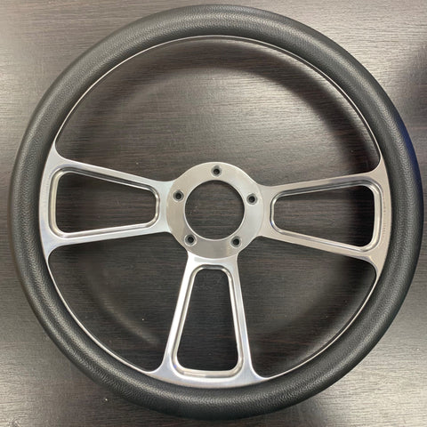"FACTORY 2ND: 14"" BILLET MUSCLE WHEEL ONLY"