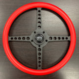 "FACTORY 2ND: 14"" Black Lakester Circuit Series- Red Wrap"