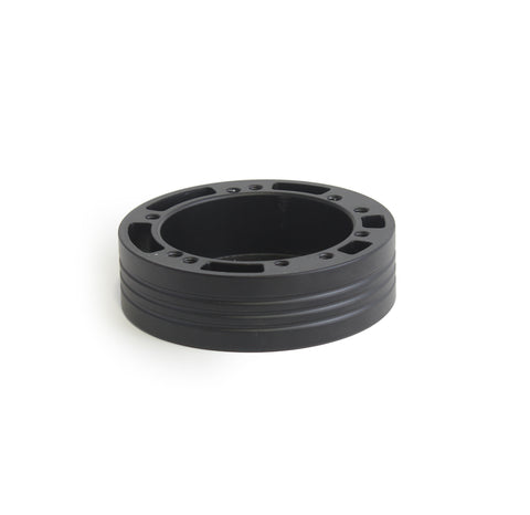 "5 & 6 Hole Steering Wheel Spacer - 1.5"" Black"