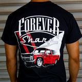 Forever Sharp Black T-Shirt with C10 Design