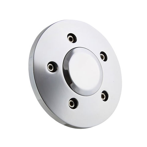 Polished Billet Big Rig Truck Wheel - 5 hole