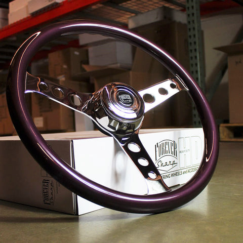 "FACTORY SAMPLE: 18"" CHROME SEBRING - PURPLE HAZE"
