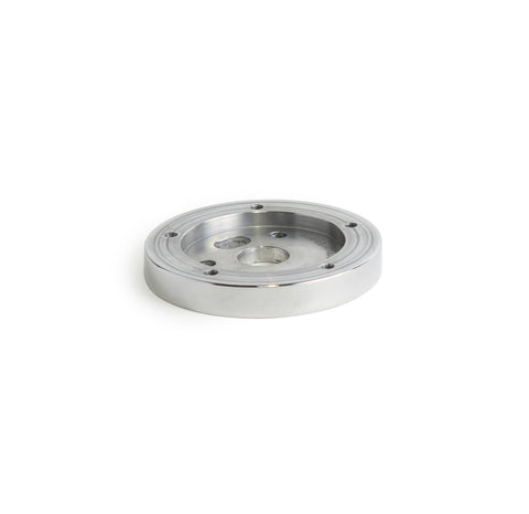 "5 Hole Steering Wheel Spacer - 1/2"" Polished"