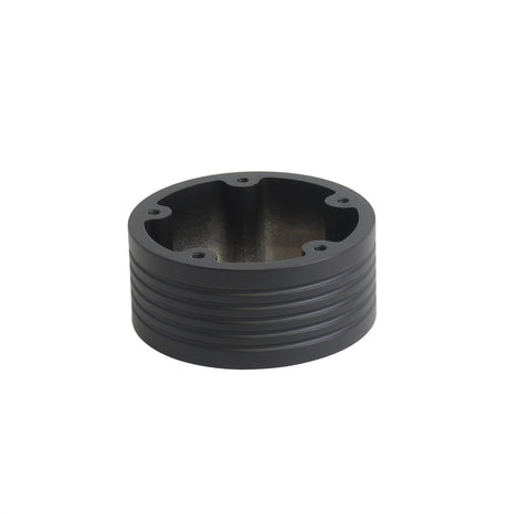 "5 Hole Steering Wheel Spacer - 1.5"" Black"
