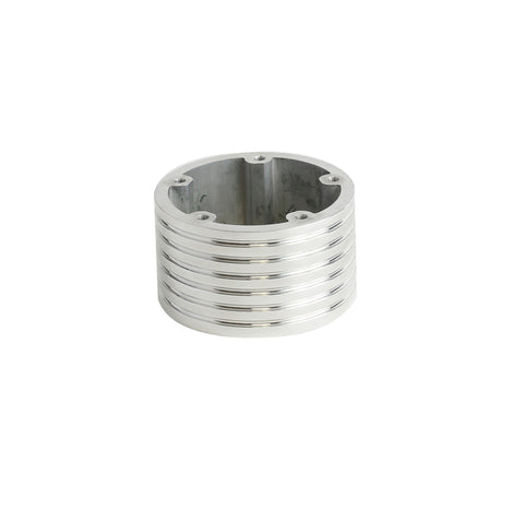 "5 Hole Steering Wheel Spacer - 2"" Polished"