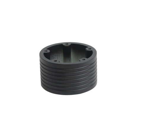 "5 Hole Steering Wheel Spacer - 2"" Black"