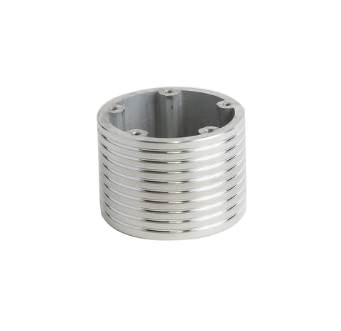 "5 Hole Steering Wheel Spacer - 2.5"" Polished"