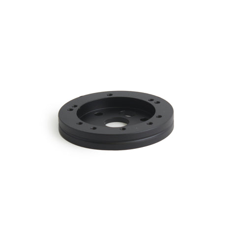 "5 & 6 Hole Steering Wheel Spacer - 1/2"" Black"