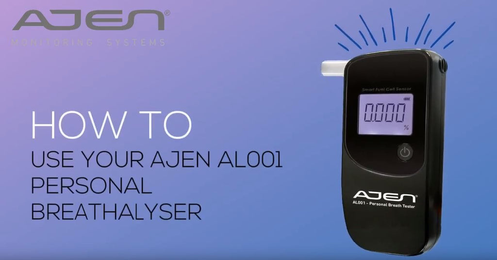 Common Questions -Ajen AL001 Personal Breathalyser