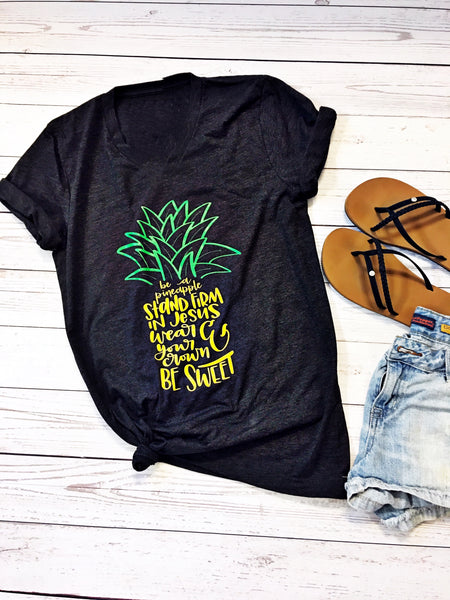 Be A Pineapple- Tee🍍