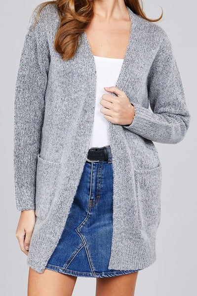 Ellie Cardigan (Heather Grey)