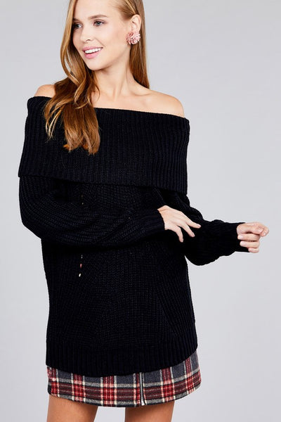Antoinette Sweater (Black)