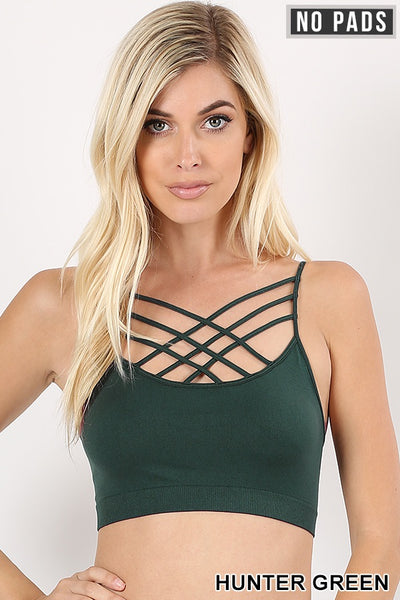 Werk Bralette (Hunter Green)