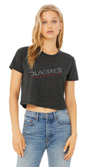 WOMENS LOGO CROP TEESHIRT