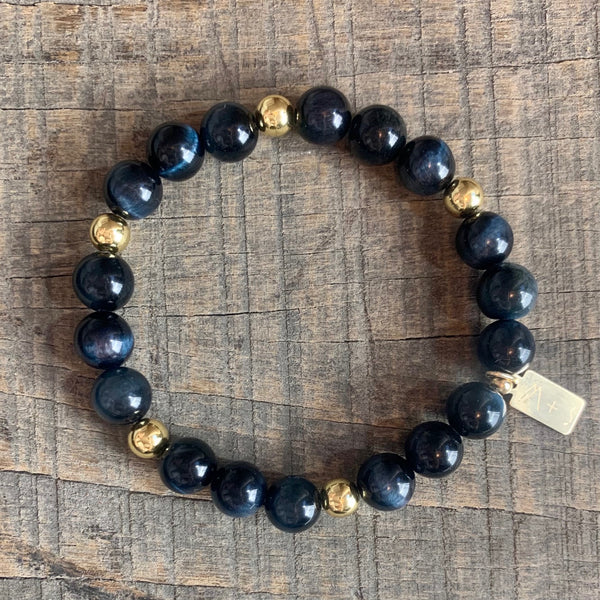 *NEW* Blue Tiger Eye [Strength, Clarity, Calmness]