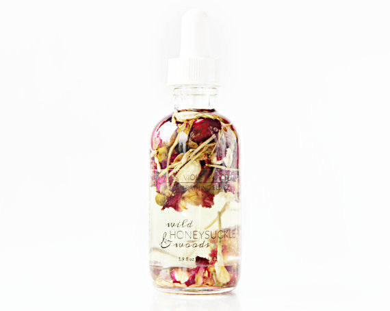Wild Honeysuckle & Woods | Body & Bathing Elixir