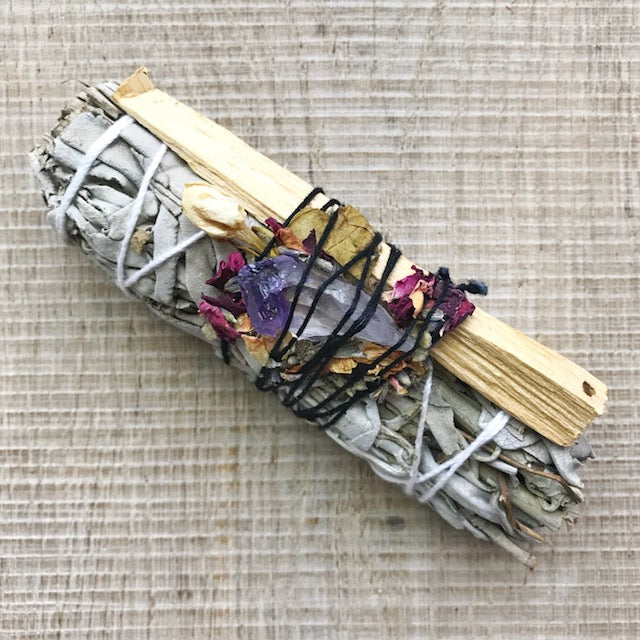 Sage and Palo Santo Smudge Bundle