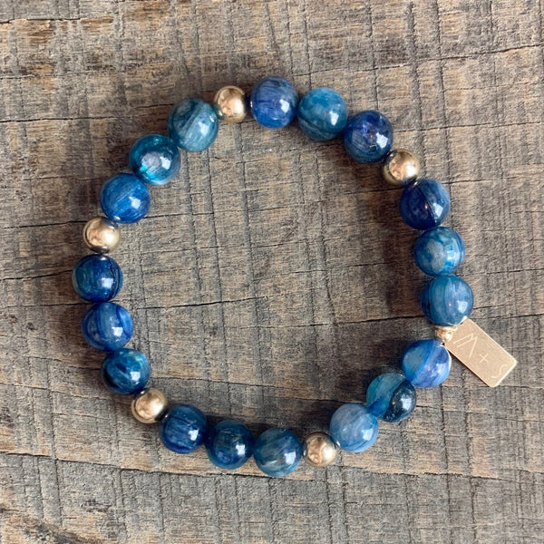 *NEW* Kyanite Bracelet [Communication. Chakra Alignment]
