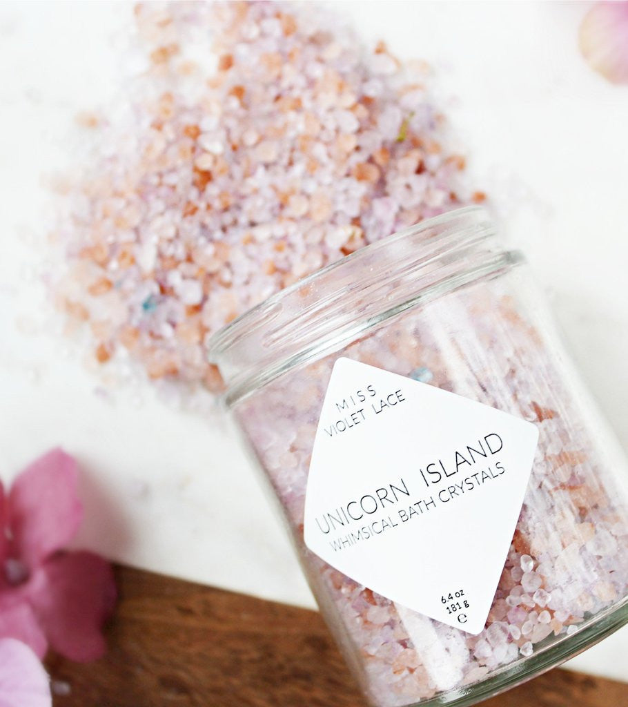 Unicorn Island | Whimsical Bathing Crystals