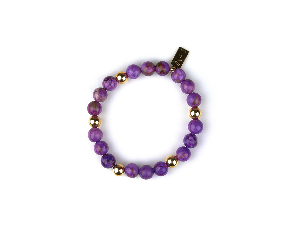 Sugilite Bracelet [Positivity, Protection, Peace of Mind]