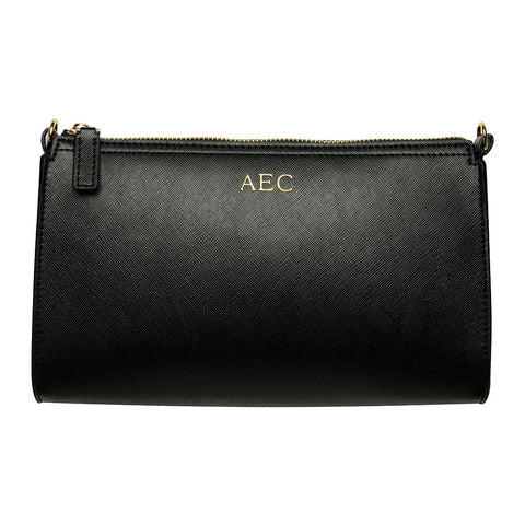 BLACK LONG CLUTCH