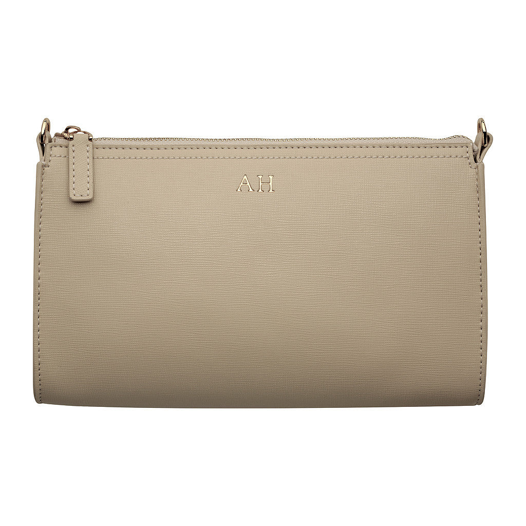 CREAM LONG CLUTCH