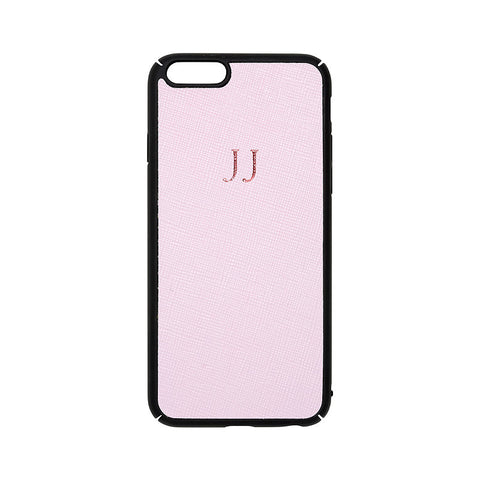PINK SAFFIANO IPHONE COVER 6, 6S & 7